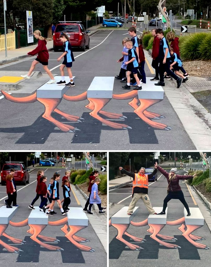 First 3D Crossing in Australia developed by primary school students