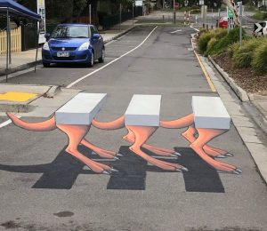 Skippy 3D Crossing Roadside